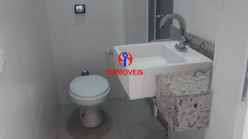 BANHEIRO SOCIAL - Kitnet/Conjugado 30m² à venda Centro, Rio de Janeiro - R$ 260.000 - TJKI00049 - 13