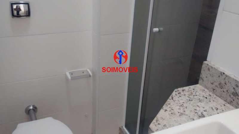 BANHEIRO SOCIAL - Kitnet/Conjugado 30m² à venda Centro, Rio de Janeiro - R$ 260.000 - TJKI00049 - 14