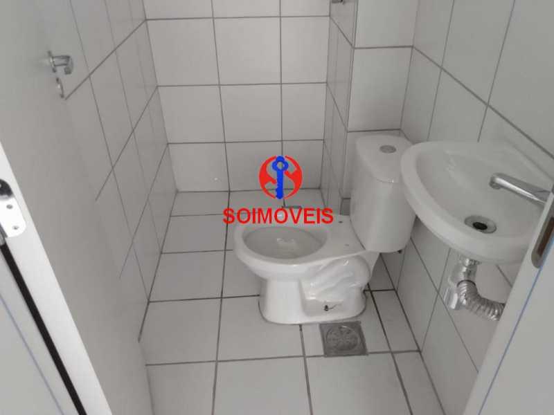 banheiro - Apartamento 2 quartos à venda Grajaú, Rio de Janeiro - R$ 450.000 - TJAP20990 - 10