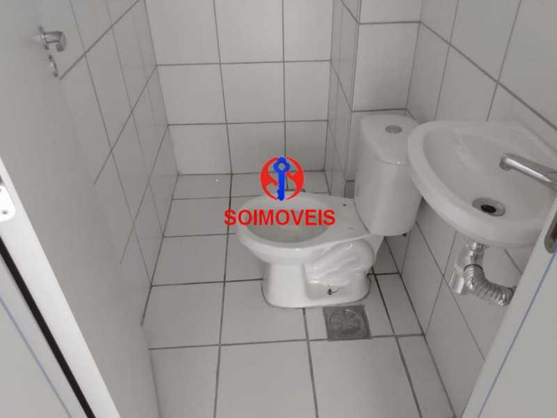 banheiro - Apartamento 2 quartos à venda Grajaú, Rio de Janeiro - R$ 450.000 - TJAP20990 - 11