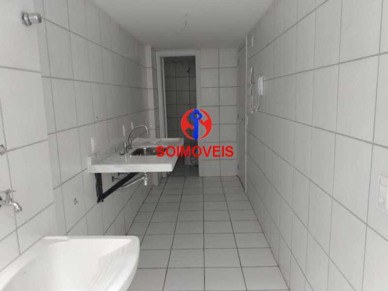 cozinha - Apartamento 2 quartos à venda Grajaú, Rio de Janeiro - R$ 450.000 - TJAP20990 - 17