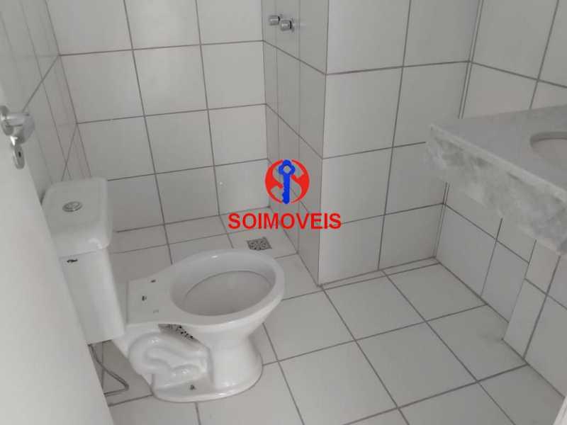 banheiro - Apartamento 2 quartos à venda Grajaú, Rio de Janeiro - R$ 450.000 - TJAP20990 - 12