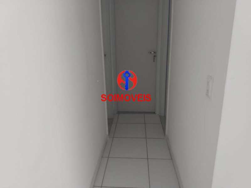 circulação - Apartamento 2 quartos à venda Grajaú, Rio de Janeiro - R$ 450.000 - TJAP20990 - 4