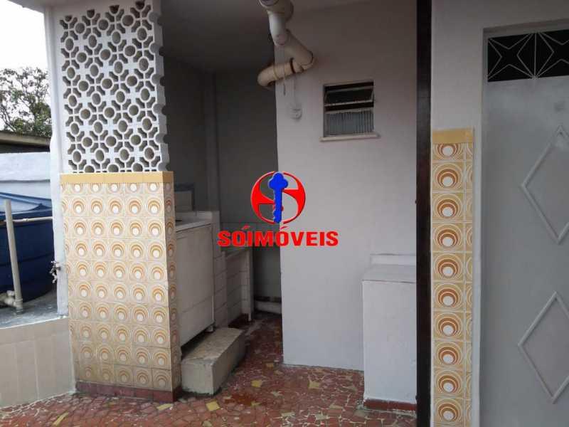 TERRAÇO - Casa de Vila 3 quartos à venda Bonsucesso, Rio de Janeiro - R$ 370.000 - TJCV30048 - 17