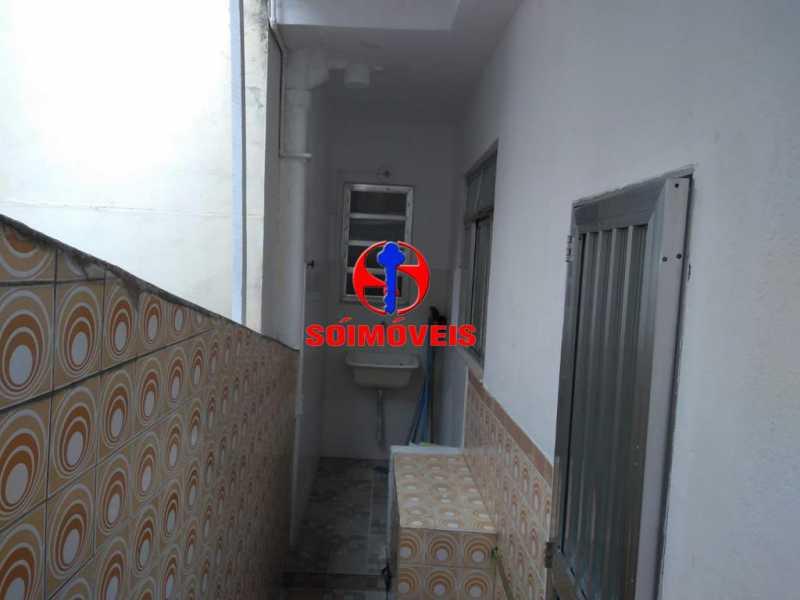 AREA DE SERVIÇO - Casa de Vila 3 quartos à venda Bonsucesso, Rio de Janeiro - R$ 370.000 - TJCV30048 - 15