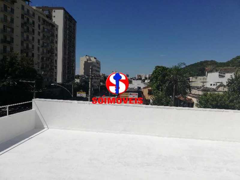 TERRAÇO - Apartamento 2 quartos à venda Riachuelo, Rio de Janeiro - R$ 320.000 - TJAP20999 - 14
