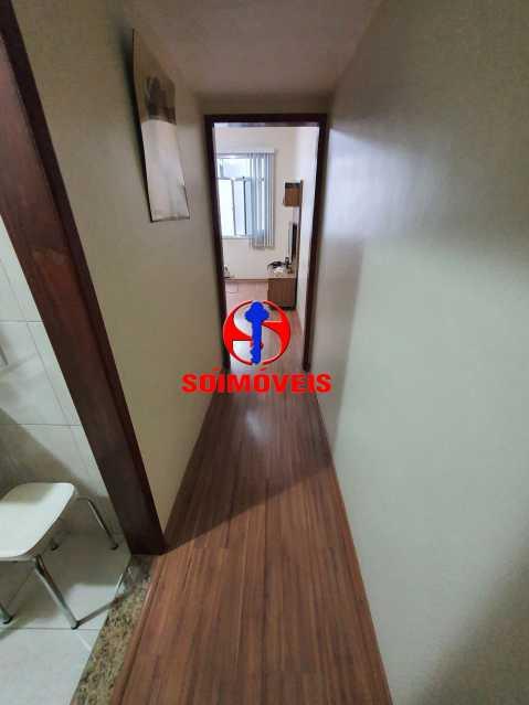 CORREDOR - Apartamento 1 quarto à venda Méier, Rio de Janeiro - R$ 270.000 - TJAP10240 - 5
