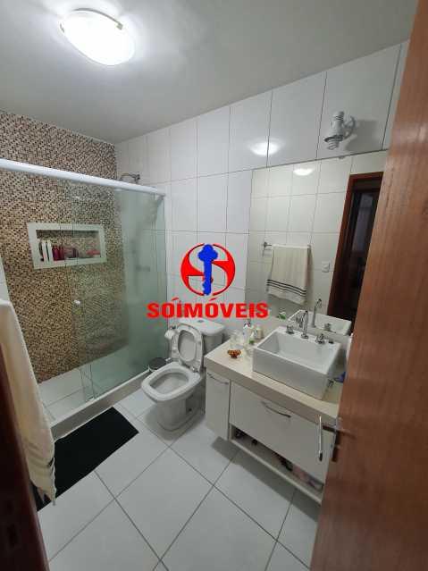 BANHEIRO SOCIAL - Apartamento 1 quarto à venda Méier, Rio de Janeiro - R$ 270.000 - TJAP10240 - 14