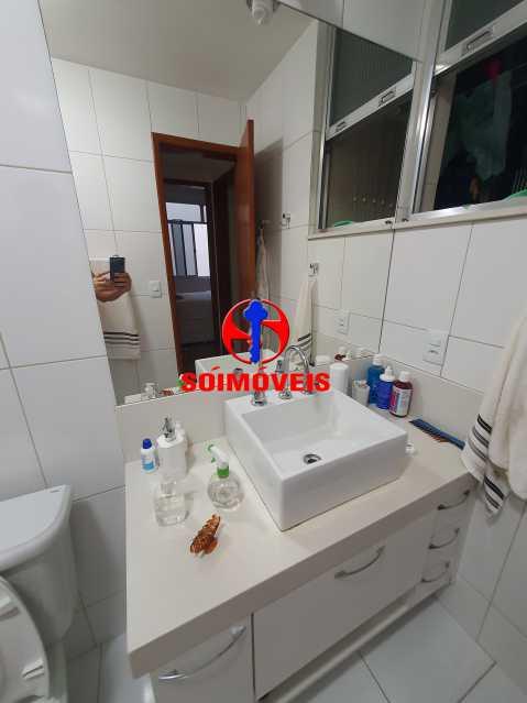 BANHEIRO SOCIAL - Apartamento 1 quarto à venda Méier, Rio de Janeiro - R$ 270.000 - TJAP10240 - 16