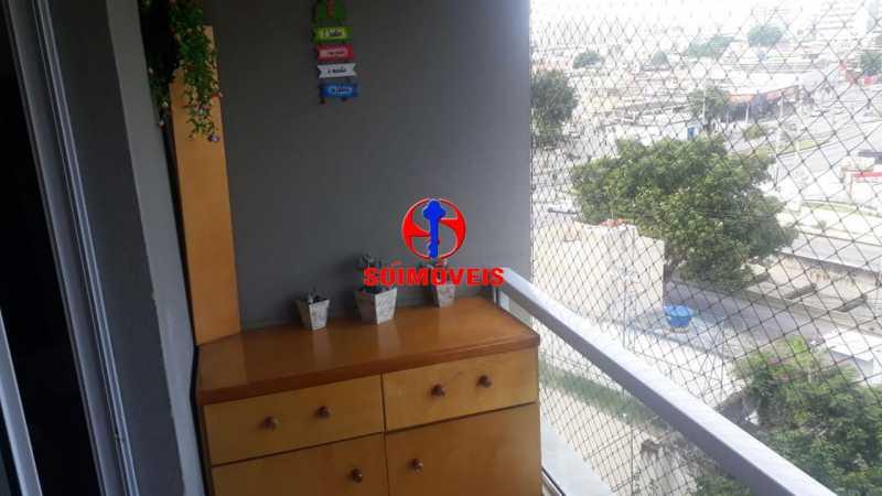 VARANDA - Apartamento 3 quartos à venda Pilares, Rio de Janeiro - R$ 465.000 - TJAP30442 - 16