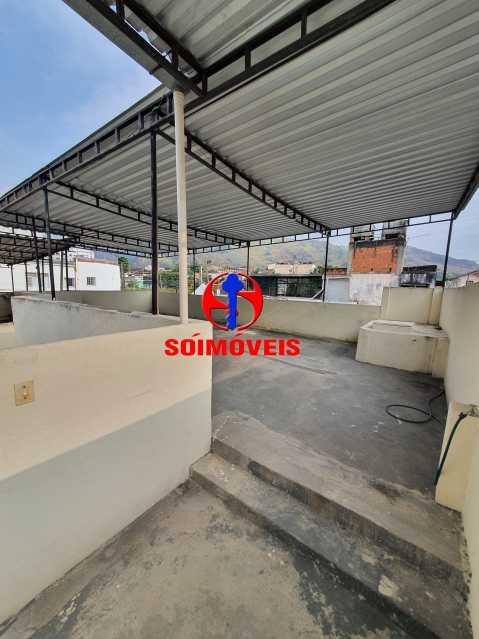 TERRAÇO - Casa 2 quartos à venda Quintino Bocaiúva, Rio de Janeiro - R$ 230.000 - TJCA20039 - 20