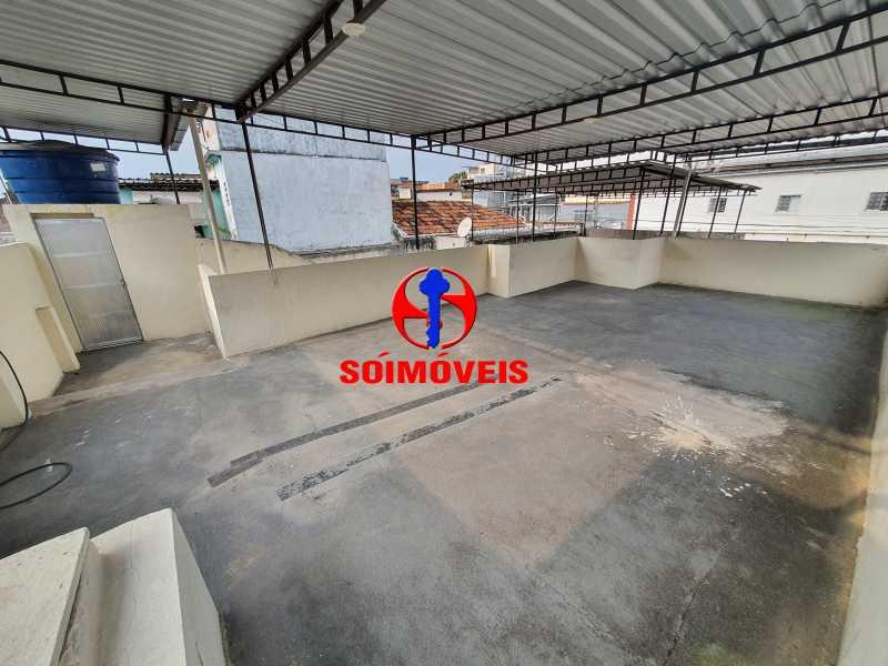 TERRAÇO - Casa 2 quartos à venda Quintino Bocaiúva, Rio de Janeiro - R$ 230.000 - TJCA20039 - 21