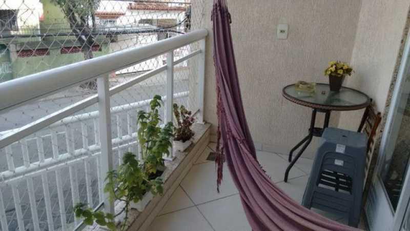 080003642553771 - Casa em Condomínio 2 quartos à venda Cachambi, Rio de Janeiro - R$ 389.000 - TJCN20005 - 1