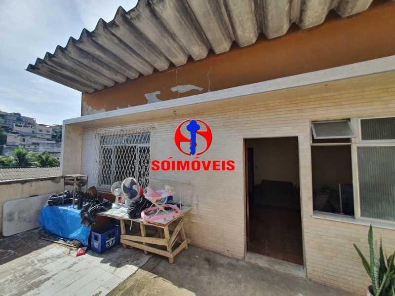FACHADA - Casa 5 quartos à venda Piedade, Rio de Janeiro - R$ 460.000 - TJCA50010 - 5