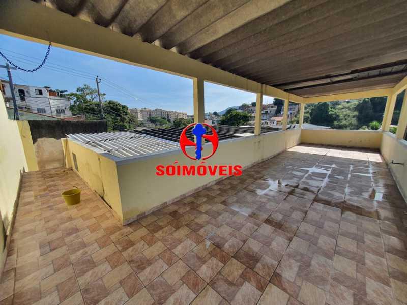 TERRAÇO - Casa 5 quartos à venda Piedade, Rio de Janeiro - R$ 460.000 - TJCA50010 - 19