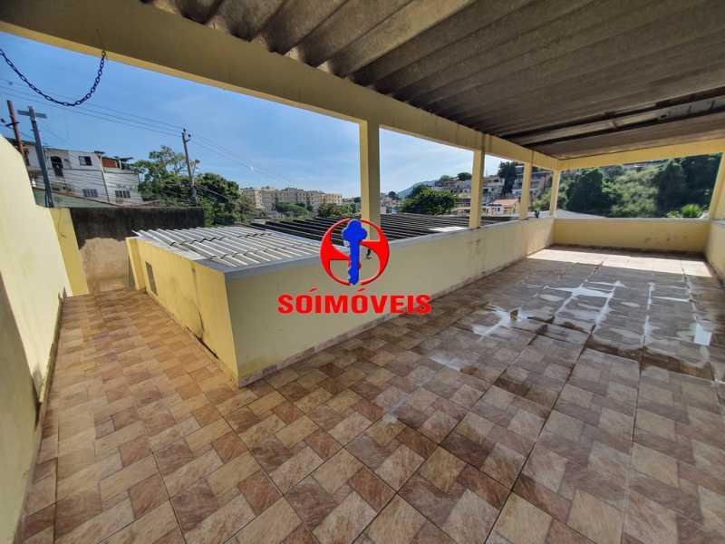 TERRAÇO - Casa 5 quartos à venda Piedade, Rio de Janeiro - R$ 460.000 - TJCA50010 - 20