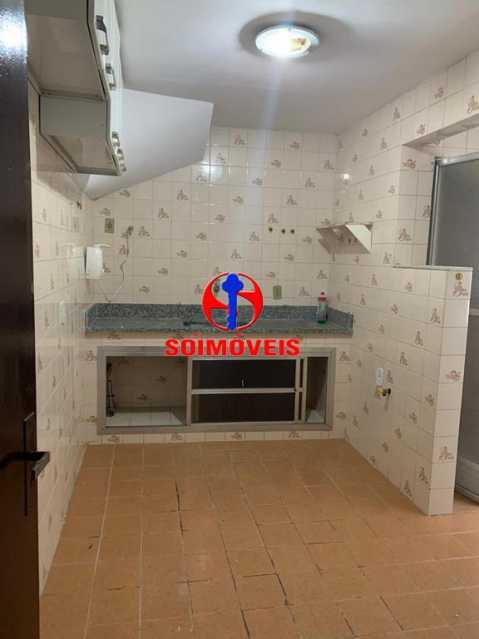 COZINHA - Casa de Vila 2 quartos à venda Andaraí, Rio de Janeiro - R$ 370.000 - TJCV20078 - 9