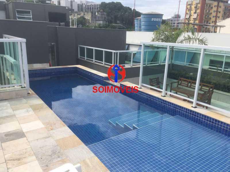 pisc - Apartamento 1 quarto à venda Vila Isabel, Rio de Janeiro - R$ 480.000 - TJAP10242 - 14