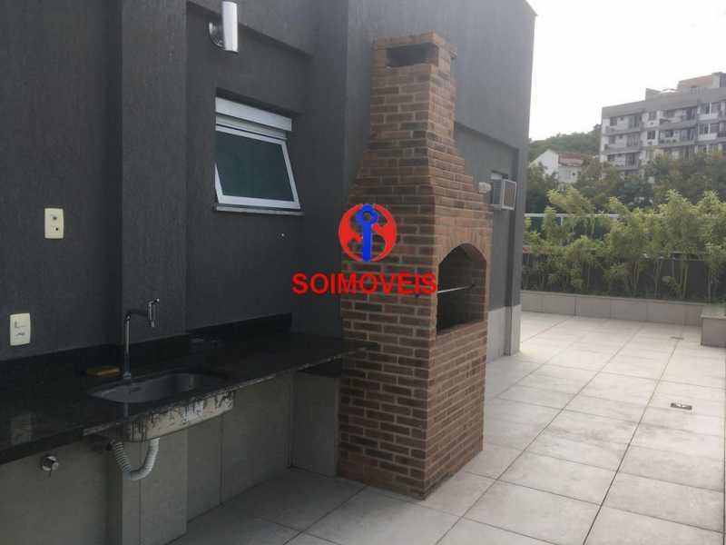 chur - Apartamento 1 quarto à venda Vila Isabel, Rio de Janeiro - R$ 480.000 - TJAP10242 - 15