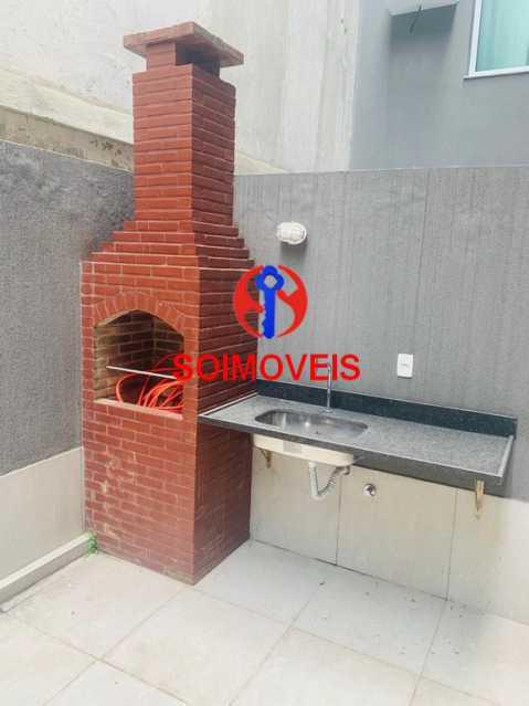chur - Apartamento 1 quarto à venda Vila Isabel, Rio de Janeiro - R$ 480.000 - TJAP10242 - 16
