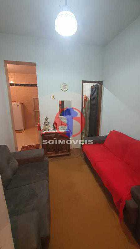 SALA - Casa de Vila 2 quartos à venda Piedade, Rio de Janeiro - R$ 200.000 - TJCV20101 - 6