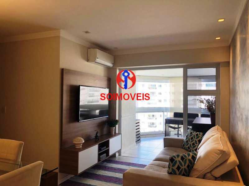 sl - Apartamento 3 quartos à venda Recreio dos Bandeirantes, Rio de Janeiro - R$ 660.000 - TJAP30450 - 1