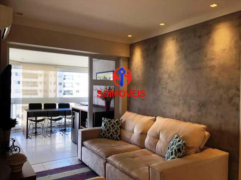 sl - Apartamento 3 quartos à venda Recreio dos Bandeirantes, Rio de Janeiro - R$ 660.000 - TJAP30450 - 3