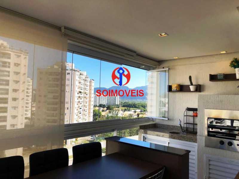 var - Apartamento 3 quartos à venda Recreio dos Bandeirantes, Rio de Janeiro - R$ 660.000 - TJAP30450 - 8