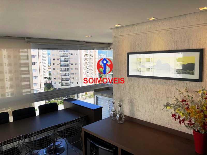 var - Apartamento 3 quartos à venda Recreio dos Bandeirantes, Rio de Janeiro - R$ 660.000 - TJAP30450 - 7
