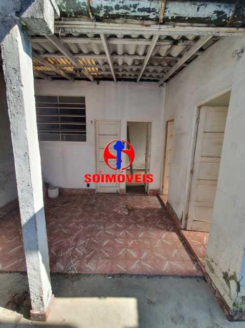 ÁREA - Casa de Vila 1 quarto à venda Encantado, Rio de Janeiro - R$ 120.000 - TJCV10014 - 3