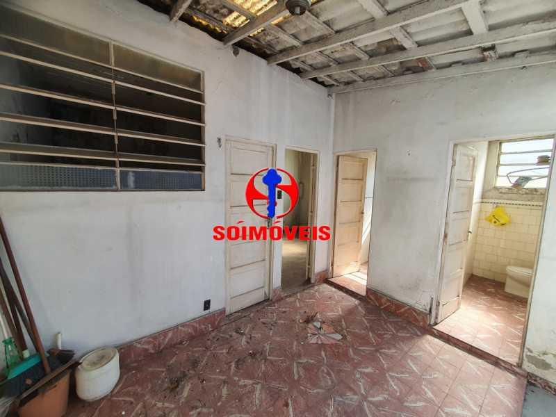 VARANDA E PEQUENO QUINTAL - Casa de Vila 1 quarto à venda Encantado, Rio de Janeiro - R$ 120.000 - TJCV10014 - 9