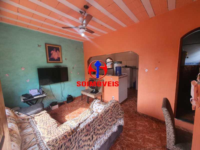 SALA - Apartamento 3 quartos à venda Piedade, Rio de Janeiro - R$ 160.000 - TJAP30451 - 1