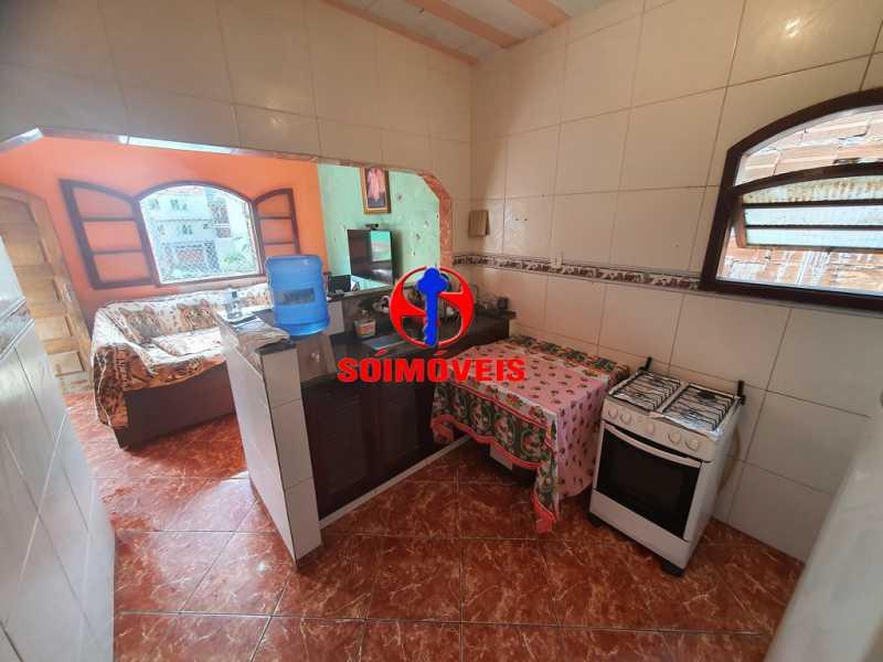 SALA E COZINHA - Apartamento 3 quartos à venda Piedade, Rio de Janeiro - R$ 160.000 - TJAP30451 - 6