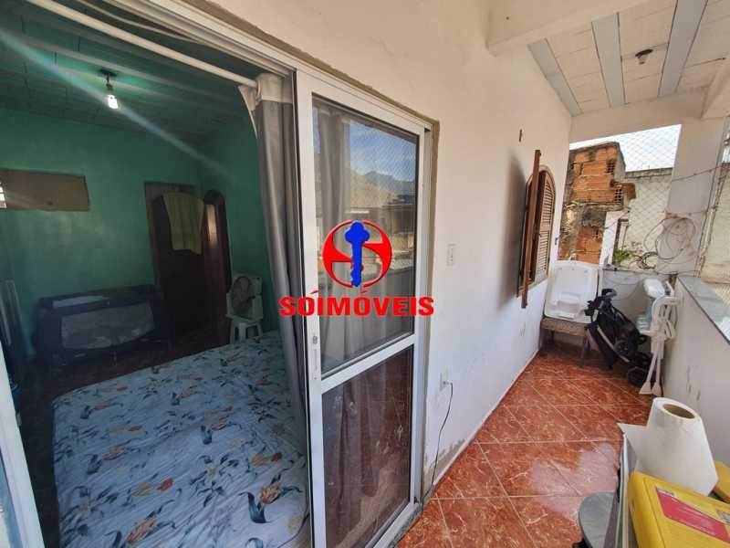 QUARTO COM VARANDA - Apartamento 3 quartos à venda Piedade, Rio de Janeiro - R$ 160.000 - TJAP30451 - 14