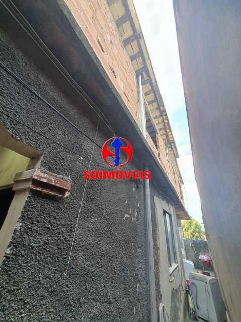CORREDOR E ÁREA DE SERVIÇO - Casa 2 quartos à venda Piedade, Rio de Janeiro - R$ 250.000 - TJCA20043 - 12