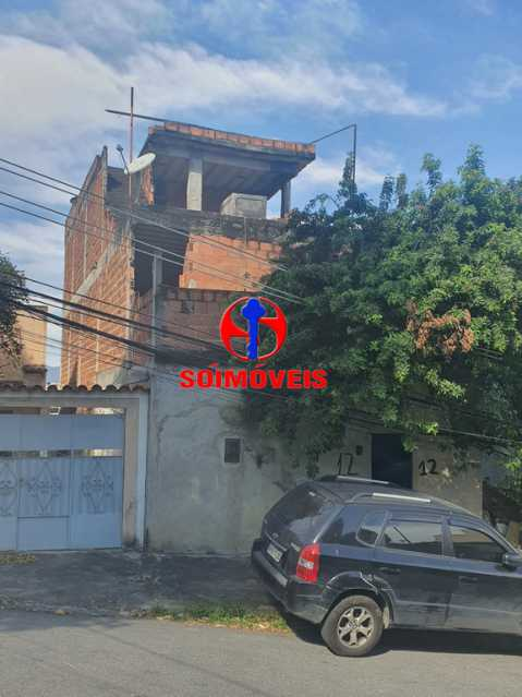 FRENTE - Casa 2 quartos à venda Piedade, Rio de Janeiro - R$ 250.000 - TJCA20043 - 1