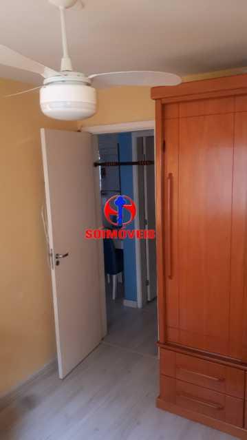 QUARTO - Apartamento 2 quartos à venda Rio Comprido, Rio de Janeiro - R$ 370.000 - TJAP21041 - 15