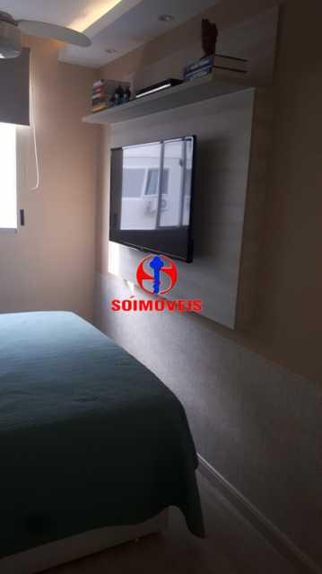 SUÍTE - Apartamento 2 quartos à venda Rio Comprido, Rio de Janeiro - R$ 370.000 - TJAP21041 - 11