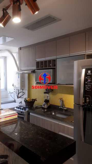 COZINHA - Apartamento 2 quartos à venda Rio Comprido, Rio de Janeiro - R$ 370.000 - TJAP21041 - 8