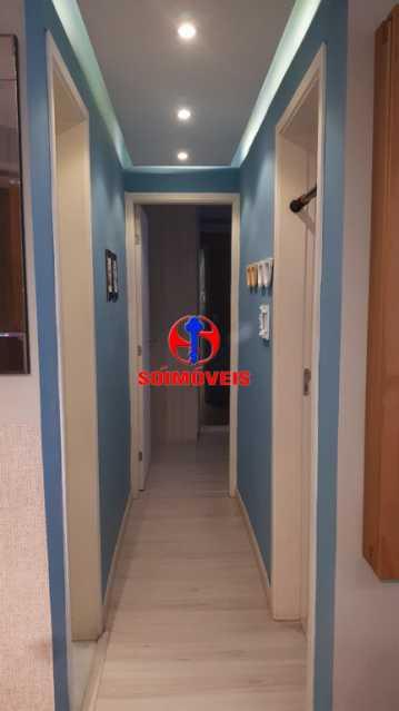 CORREDOR - Apartamento 2 quartos à venda Rio Comprido, Rio de Janeiro - R$ 370.000 - TJAP21041 - 19