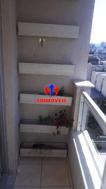 VARANDA - Apartamento 2 quartos à venda Rio Comprido, Rio de Janeiro - R$ 370.000 - TJAP21041 - 29