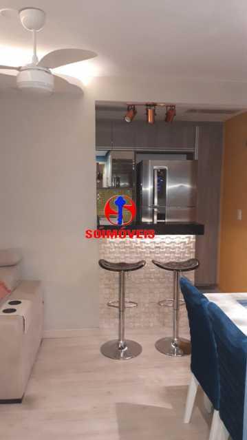 SALA E COZINHA  - Apartamento 2 quartos à venda Rio Comprido, Rio de Janeiro - R$ 370.000 - TJAP21041 - 9
