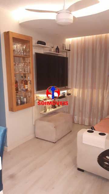 SALA - Apartamento 2 quartos à venda Rio Comprido, Rio de Janeiro - R$ 370.000 - TJAP21041 - 1