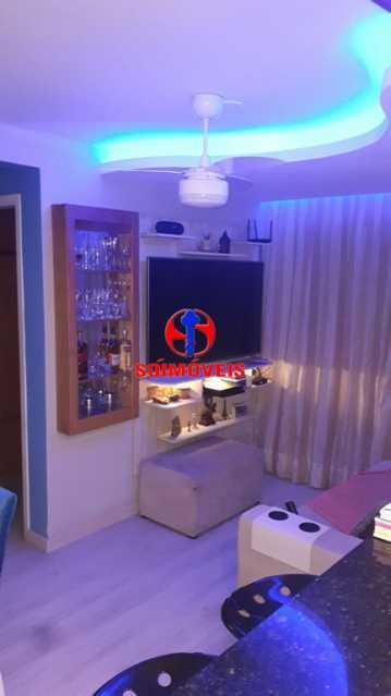 SALA - Apartamento 2 quartos à venda Rio Comprido, Rio de Janeiro - R$ 370.000 - TJAP21041 - 5