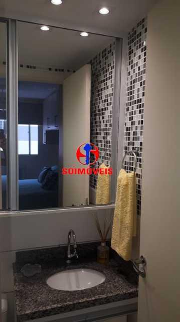 BANHEIRO SOCIAL - Apartamento 2 quartos à venda Rio Comprido, Rio de Janeiro - R$ 370.000 - TJAP21041 - 30