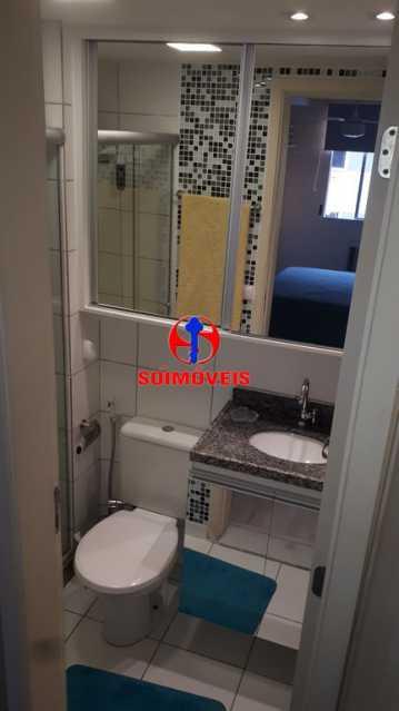 BANHEIRO SOCIAL - Apartamento 2 quartos à venda Rio Comprido, Rio de Janeiro - R$ 370.000 - TJAP21041 - 31