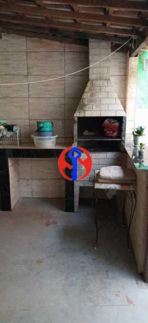 Churrasqueira - Casa de Vila 2 quartos à venda Méier, Rio de Janeiro - R$ 435.000 - TJCV20076 - 17