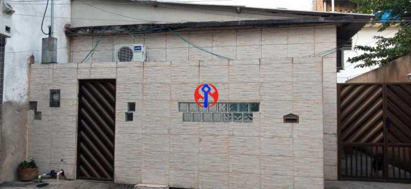 Frente da Casa - Casa de Vila 2 quartos à venda Méier, Rio de Janeiro - R$ 435.000 - TJCV20076 - 1