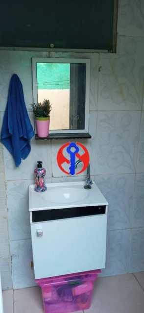 Banheiro do Quintal - Casa de Vila 2 quartos à venda Méier, Rio de Janeiro - R$ 435.000 - TJCV20076 - 14