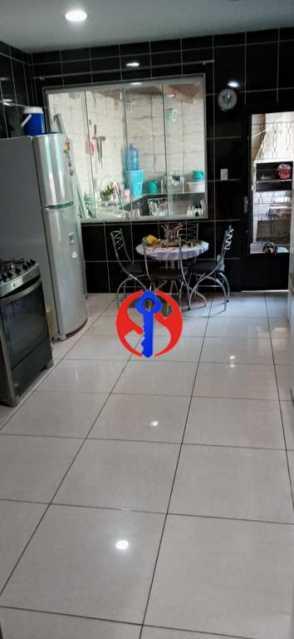 Cozinha Ampla - Casa de Vila 2 quartos à venda Méier, Rio de Janeiro - R$ 435.000 - TJCV20076 - 10